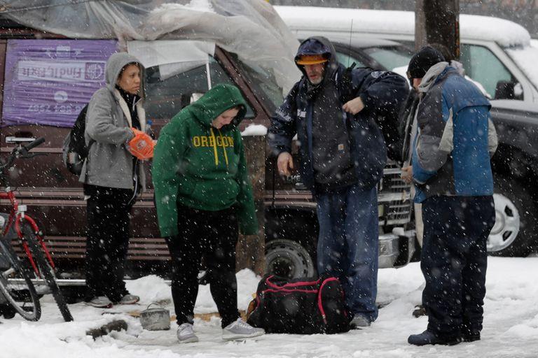 El frío genera más escenas inusuales en EE:UU.: nevó en Hawai