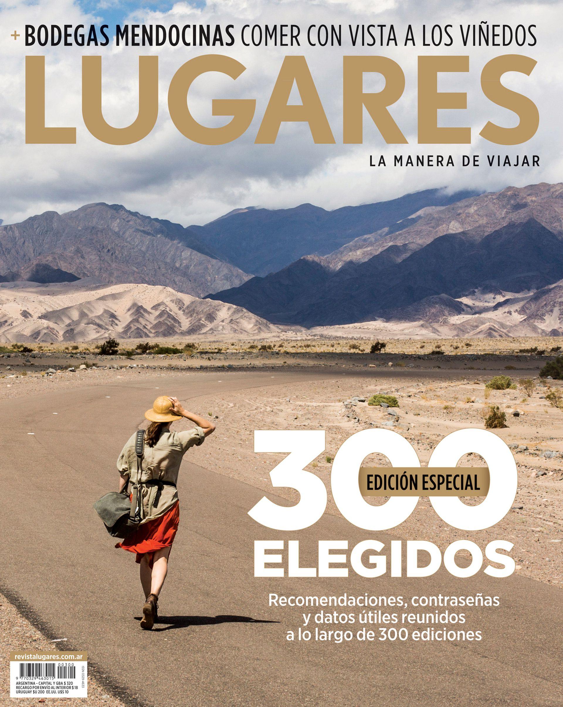 La tapa de la revista LUGARES de abril.