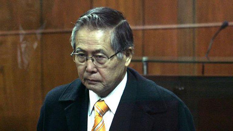 El ex presidente Alberto Fujimori.