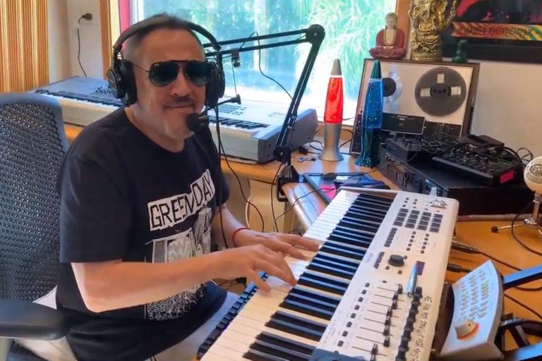 Alejandro Lerner, uno de los invitados que ya pasó por el festival de 24 horas a beneficio de Unidxs por la Música