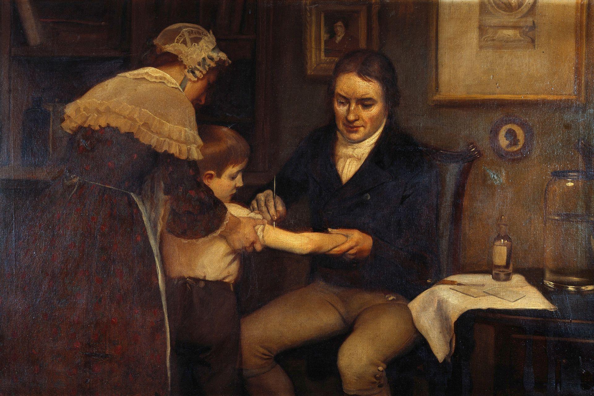 En 1796, el inglés Edward Jenner logró grandes avances en la vacuna contra la viruela