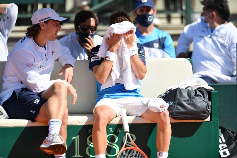 Sorpresa en la Copa Davis: Schwartzman perdió con un juvenil y Argentina cae 1-0 ante Belarús