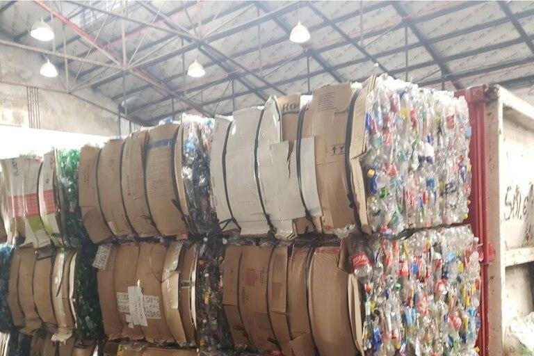 Reciclado de envases de plástico