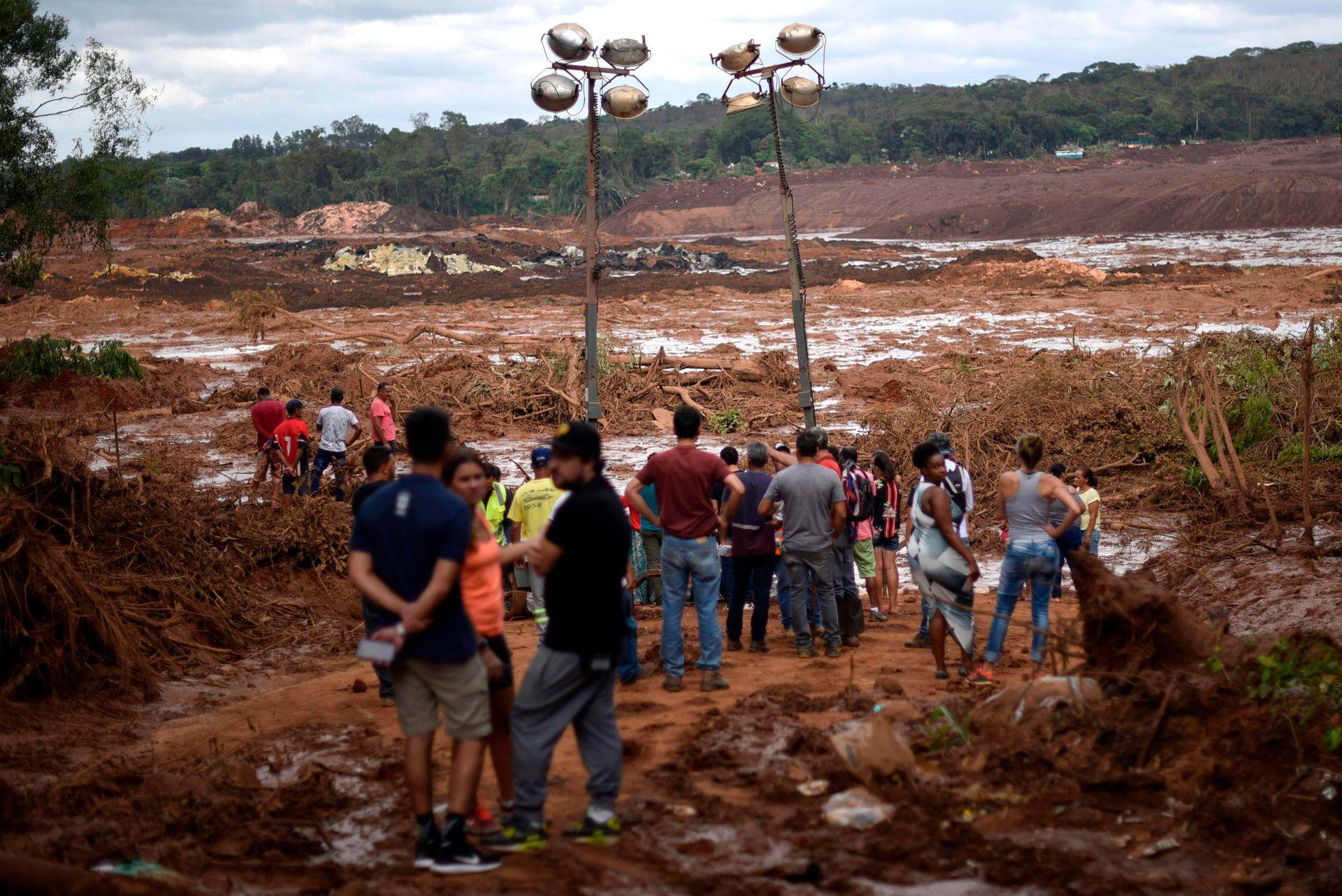 La búsqueda de cientos de desaparecidos tras el colapso del dique en Brumadinho