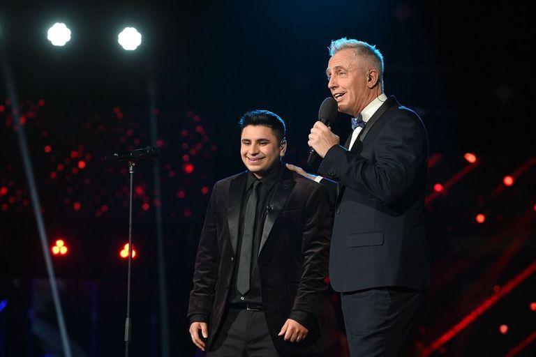 Marley con Francisco Benítez, el gran ganador de La Voz Argentina 2021
