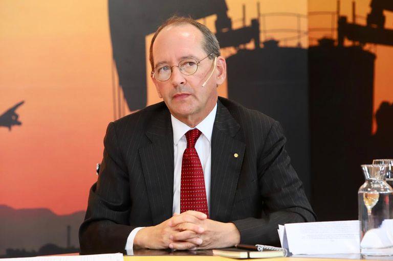 Sean Rooney, presidente de Shell Argentina
