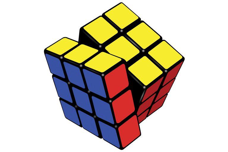 Conocido como el cubo mágico.