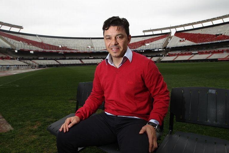 Gallardo, el DT del 2015