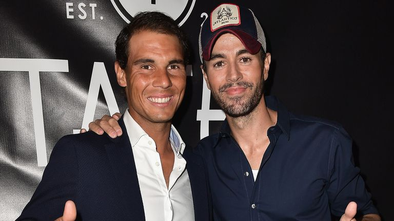 Rafael Nadal y Enrique Iglesias, socios gastronómicos