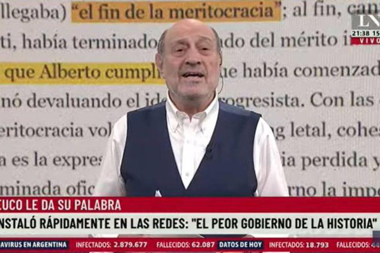 """Alfredo Leuco, sobre el Gobierno: """"Convoquen a los que saben; basta de humo"""""""