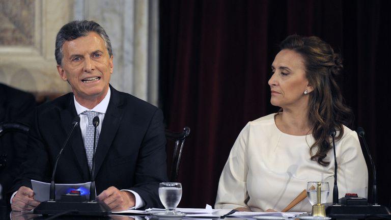 Macri da su primer discurso como presidente