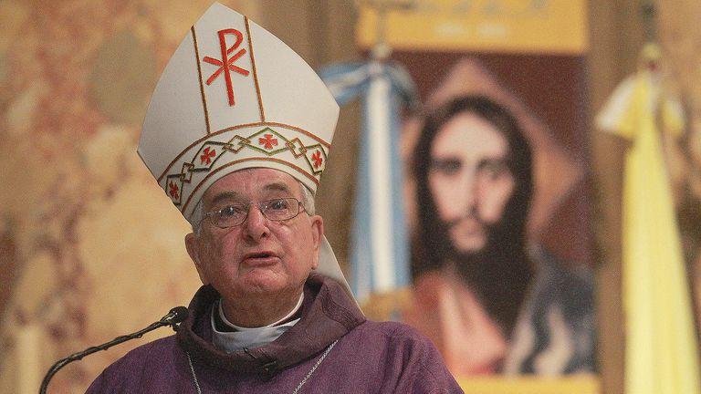 Emil Paul Tscherrig dejará de ser el nuncio en la Argentina
