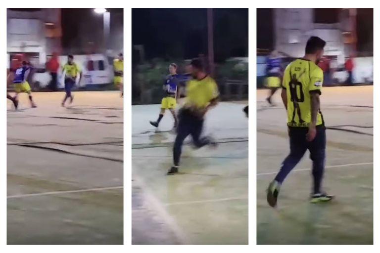 Tevez volvió a jugar al fútbol en Fuerte Apache y mostró que la magia está intacta