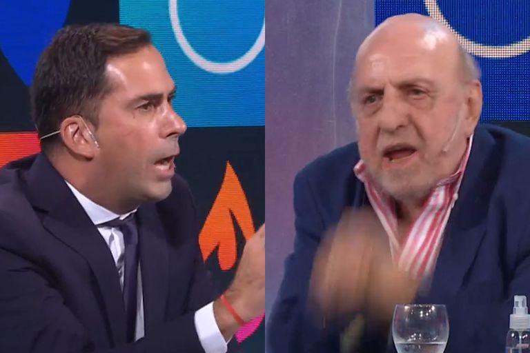 Martín Arévalo elogió a Carlos Tevez y Horacio Pagani lo cruzó