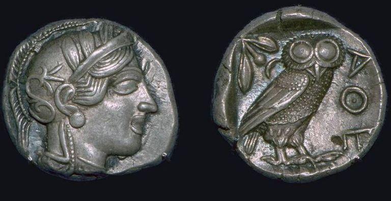 El Athene noctua, o mochuelo europeo, era el animal sagrado de la diosa Atenea de la mitología griega, y en la cultura romana, el ave de Minerva