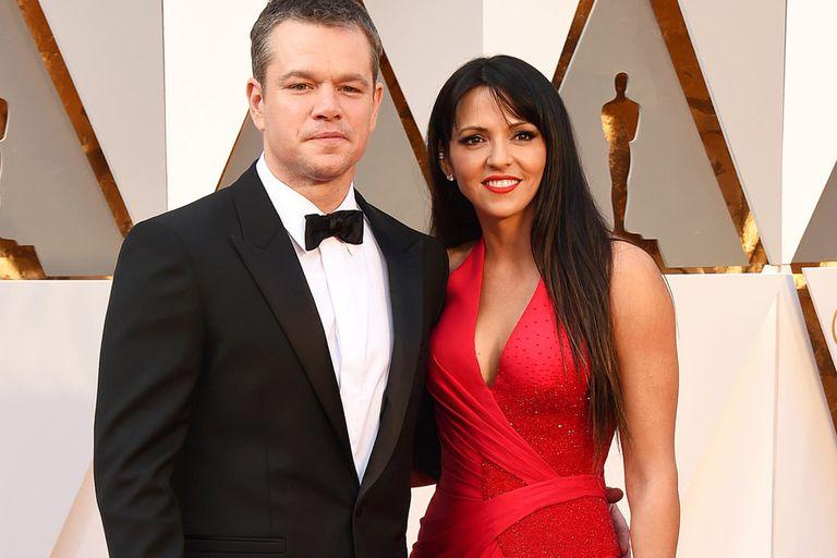 Matt Damon y Luciana Barroso se conocieron en 2003, cuando ella trabajaba como mesera en un bar de Miami