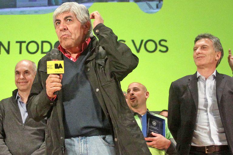 """Moyano: """"A Macri hay que meterlo preso si no se presenta"""""""