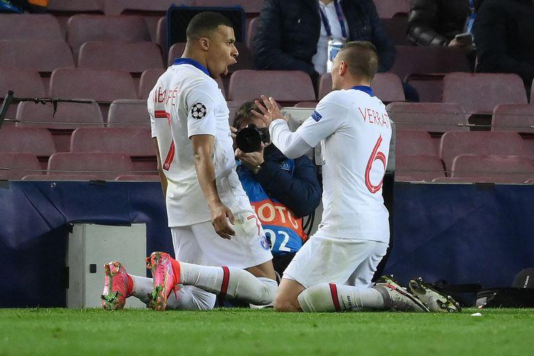 Impacto. Con tres goles de Mbappé, PSG aplastó a Barcelona en la Champions