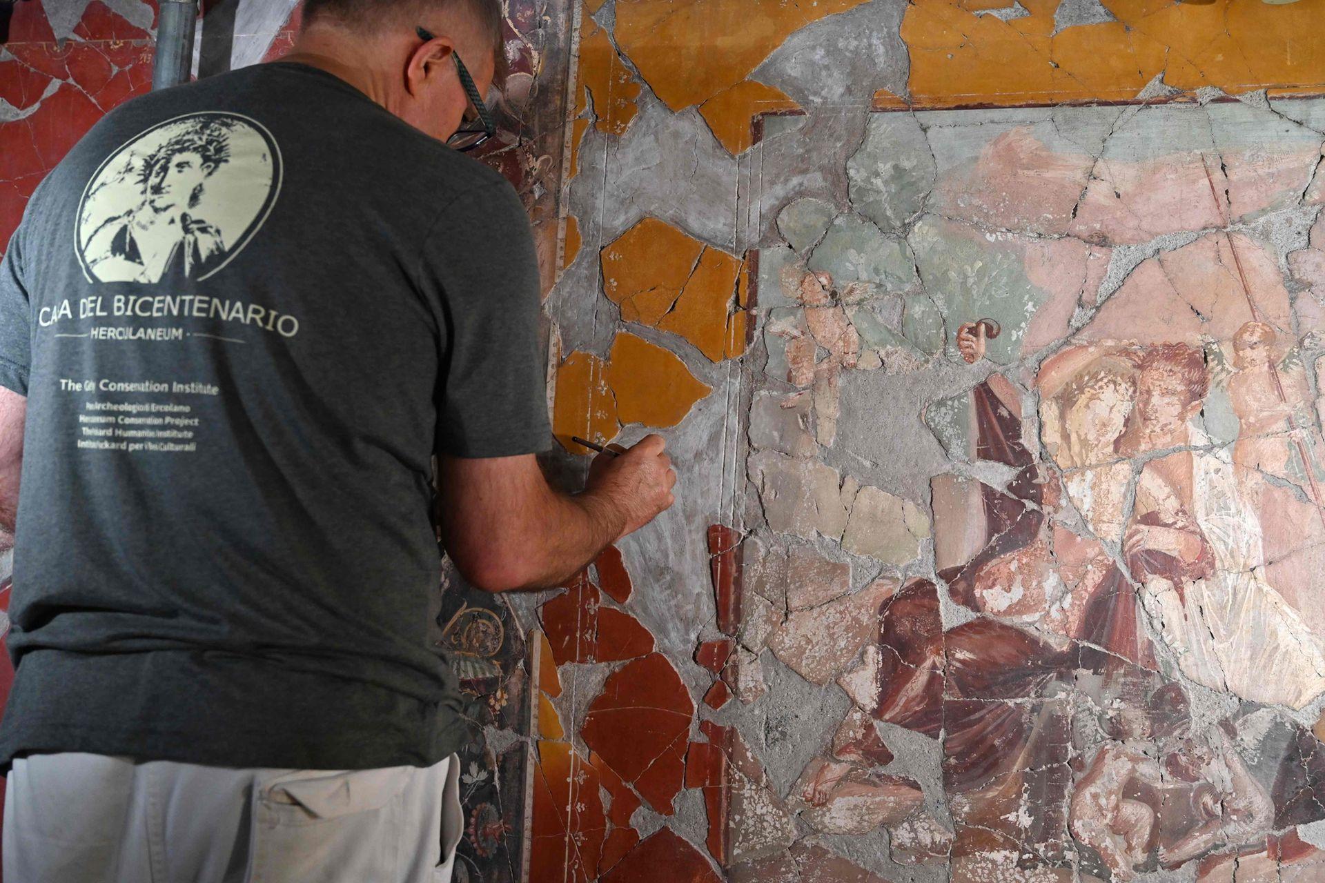 Fue descubierta en 1938, 200 años después de que comenzarán las excavaciones