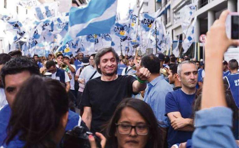 "Máximo Kirchner: ""El modelo económico está agotado y va a cerrar con represión"""