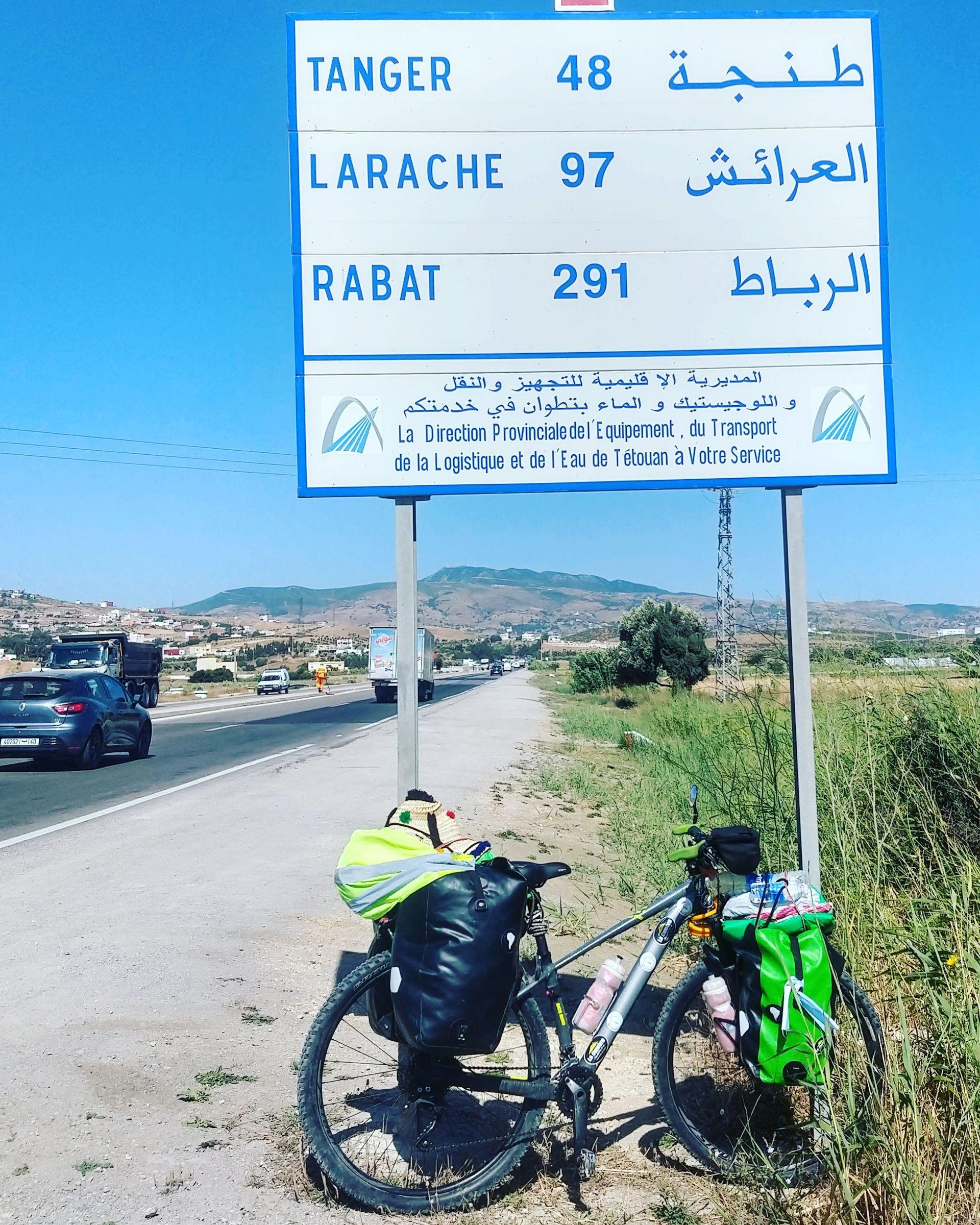 Fabiana recorrió por varias horas no tantos kilómetros en un calor abrasante.