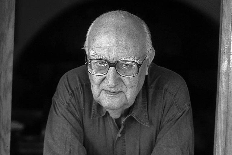 El escritor Andrea Camilleri, un héroe de la vida, como su personaje Montalbano