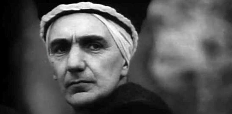 """Wilcock como Caifás en """"El Evangelio según san Mateo"""", de Pier Paolo Pasolini"""