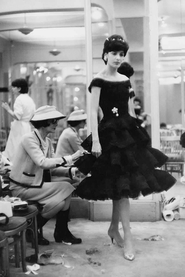 Coco Chanel creó el clasico little black dress