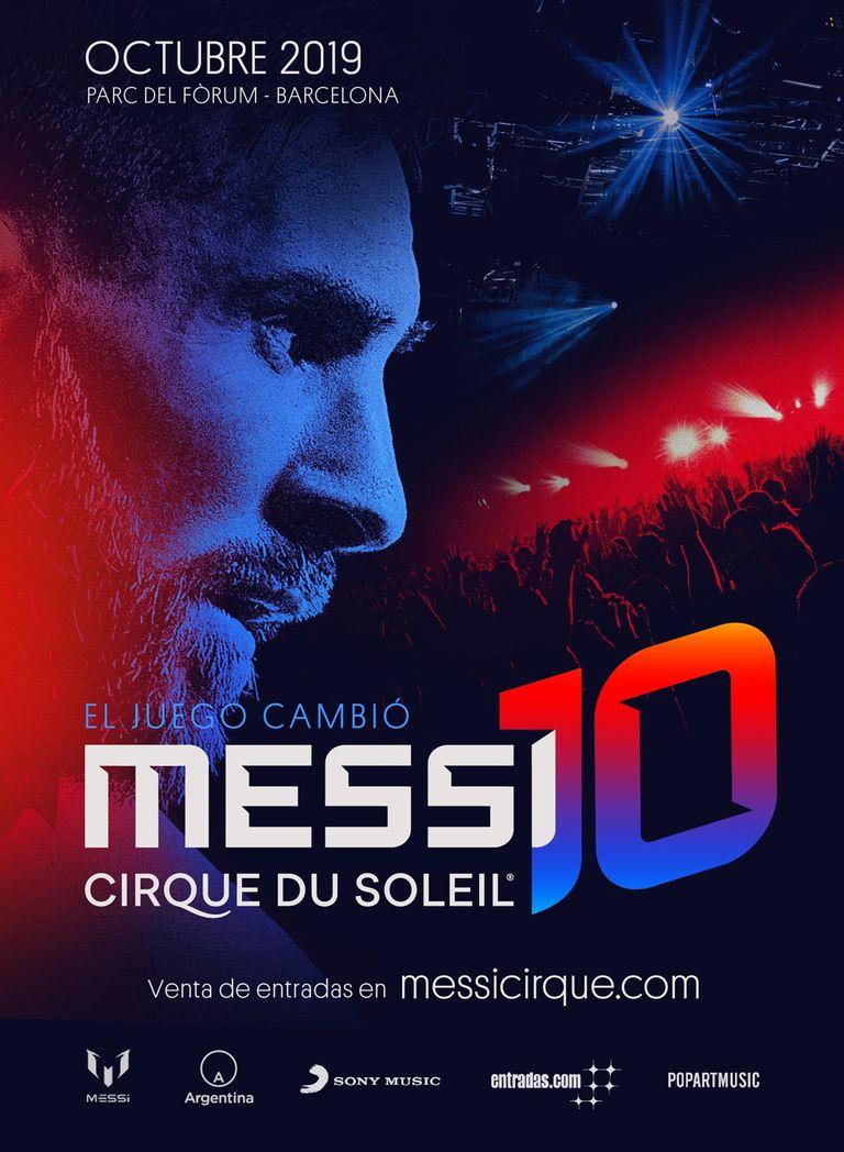 Messi10 by Cirque du Soleil se estrenará en Barcelona el 10 de octubre e iniciará una gira mundial en 2020