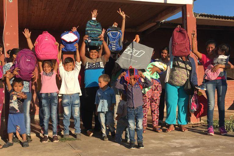 """""""Mochilas anti frío para niños"""" es uno de los 190 proyectos de Desde tu lugar"""