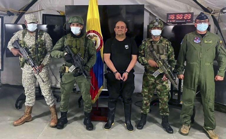 Quién es Otoniel, el principal capo del narcotráfico en Colombia que fue capturado