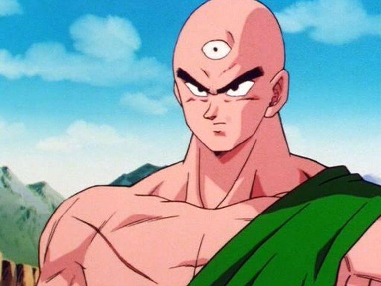 Ten Shin Han, el personaje de Dragon Ball que le envió un saludo a Salvio. Crédito: Instagram