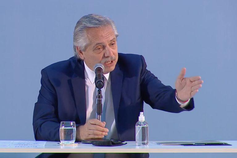 El 58,9% de la clase media argentina rechaza la gestión del presidente Alberto Fernández