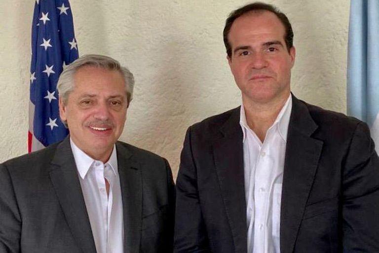 Claver-Carone marcó diferencias con Alberto Fernández en el tema Venezuela