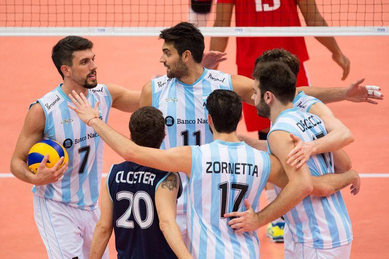 Facundo Conte volvió a liderar a la Argentina a otro triunfo