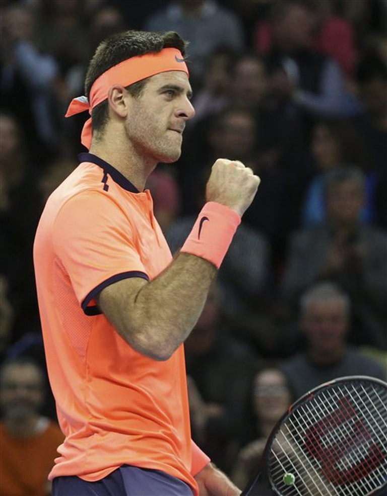 Del Potro, indomable en Estocolmo