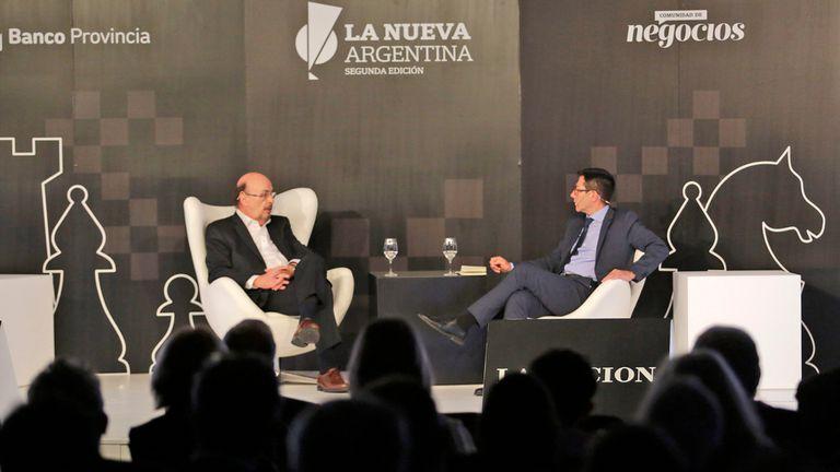 Joaquín Morales Solá en diálogo con Jorge Rosales de LA NACIPON