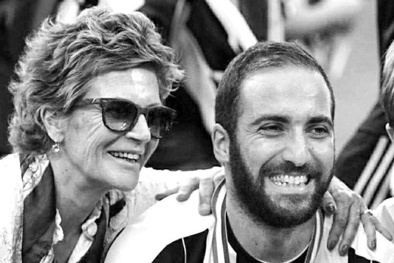 Dolor en el fútbol: murió Nancy Zacarías, la madre de Gonzalo Higuaín