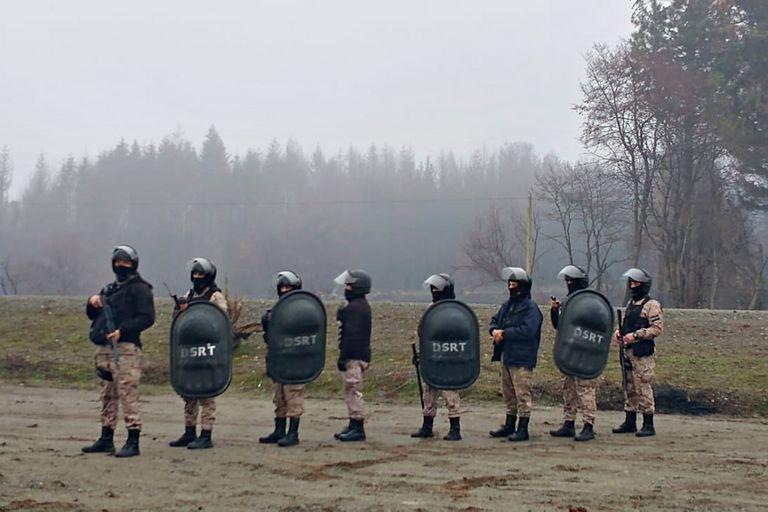 Más de 100 policías de Chubut integraron el operativo