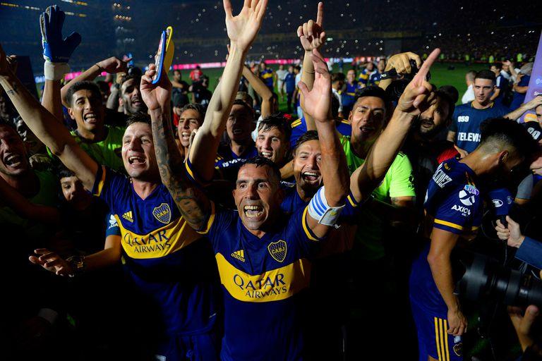 Boca, el último campeón local: con Tevez como capitán, se quedó con la Superliga pasada