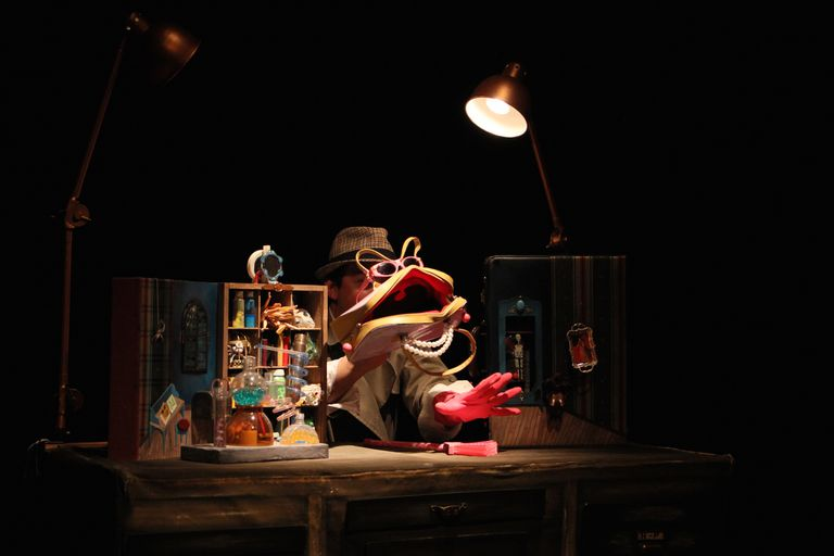 Mundo Bilina, teatro de objetos
