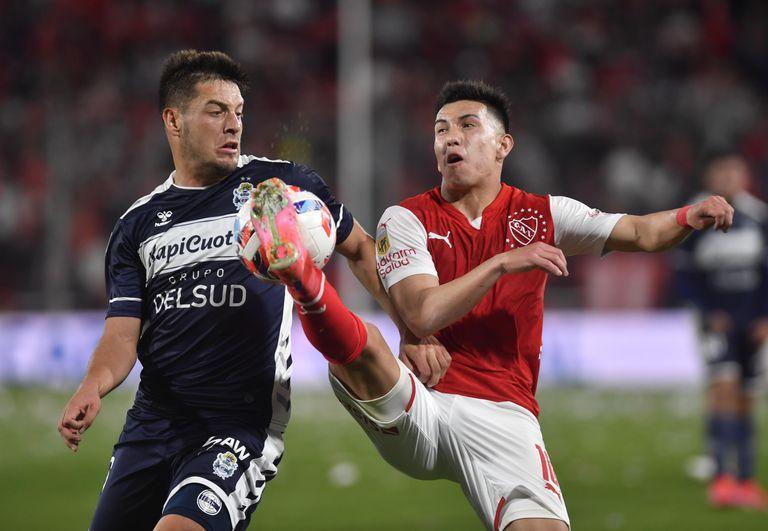 Pierna arriba y poca claridad, Independiente y Gimnasia y Esgrima empataron 1-1