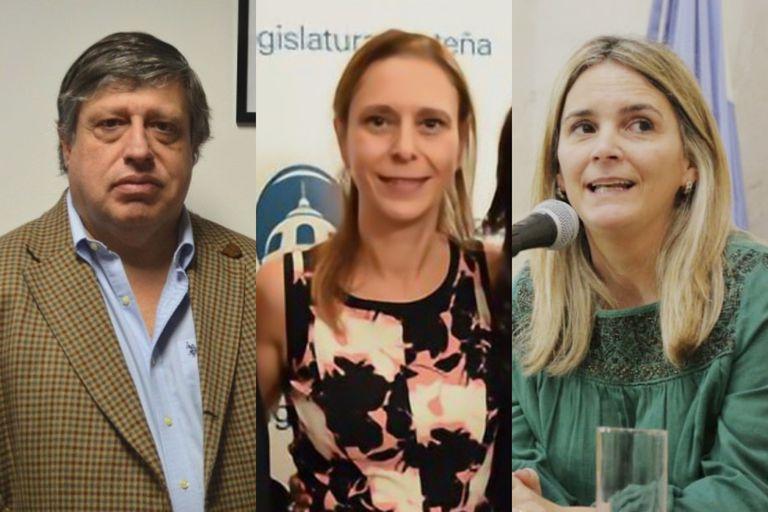 Los tres jueces que fallaron a favor de las clases presenciales en CABA: Marcelo López Alfonsín, Laura Perugini y María de las Nieves Macchiavelli Agrelo