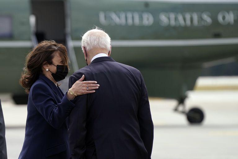 Pese a los rumores de un ex contrincante como vicepresidente, Kamala Harris y Joe Biden mantienen una relación cercana