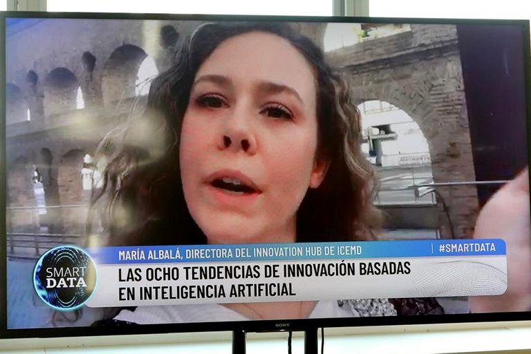 María Albalá, directora del Innovation Hub de ICEMD - Instituto de Innovación de ESIC, señaló cuáles son las próximas tendencias de innovación con IA