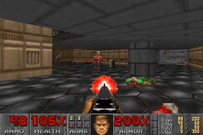 Escenas de la primera edición del Doom