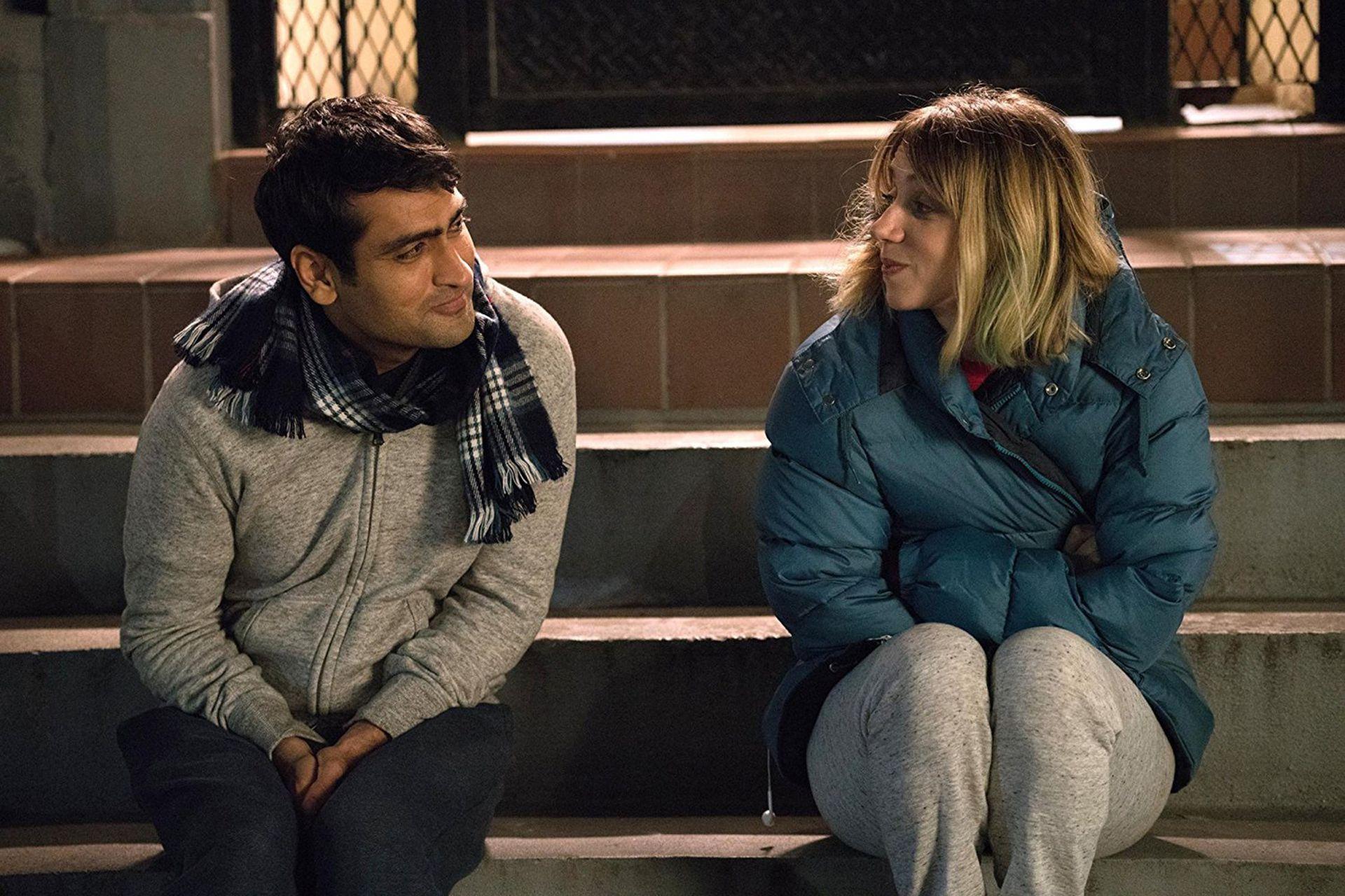 Kumail Nanjiani y Zoey Kasdan en Un amor inseparable