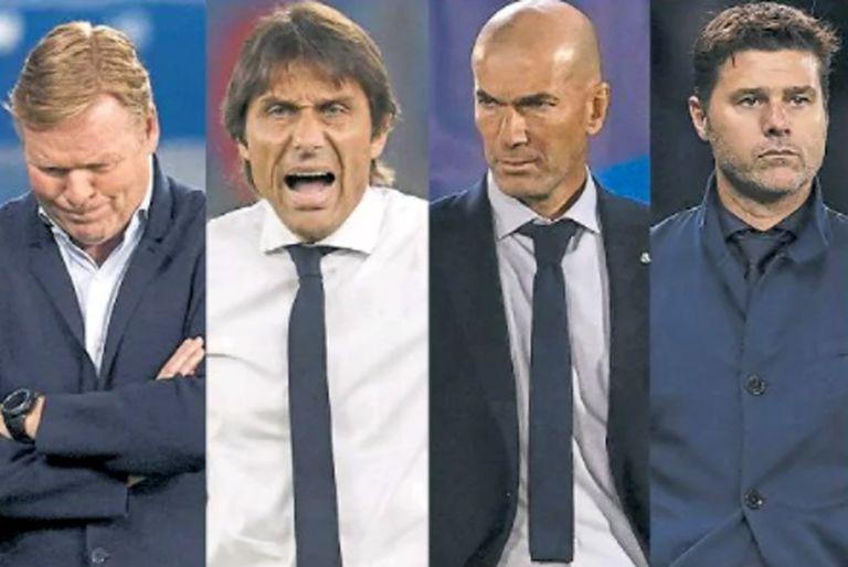 Mercado caliente. Rumores sobre Guardiola, Zidane, Pochettino y otros DT top