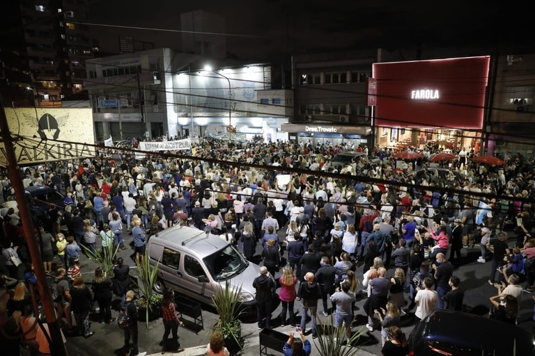 Una masiva marcha exigió justicia tras el asesinato de María Rosa Daglio