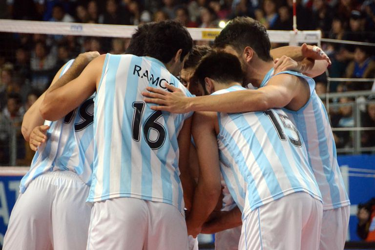 Argentina neceista un triunfo ante Bulgaria para clasificarse al Final Four